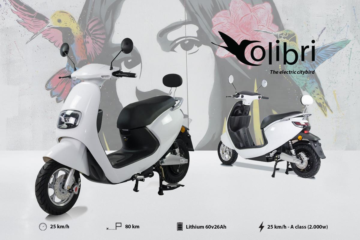 moto electrique 125 cc ydra